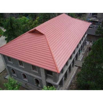 Glazed Roof Tile for Villa and Residential Houses