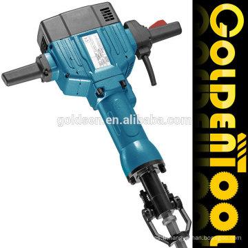 825mm 63J 2200w Power Handheld Concrete Breaker Professional Démolition électrique Jack Hammer GW8079