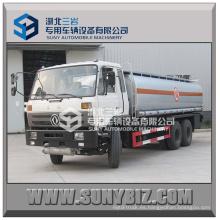 20000L 6000 galones Dongfeng 6X4 Cummins aceite de motor del camión cisterna (LHD, RHD)
