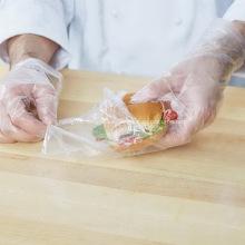 Bolsas de embalaje de plástico para vegetales frescos