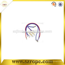 Round Elastic Cord With Metal Clips/Barb End