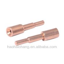 Sujeción de cobre del galjanoplastio del OEM para el torno del CNC HHC-A4274