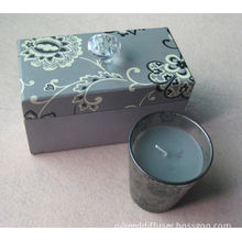 Luxury Hard Paper Gift Packaging Boxes With Crystal Knob For Candle Gift Set Ts-pb036