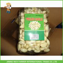 Liliaceous Gemüse Produkttyp und Knoblauch Typ 2015 Hochwertiger frischer geschälte Knoblauch