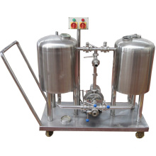 Automatic 100L tank CIP system for beer brewing