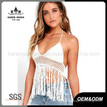 Karen Ladies Festival Halter Crochet Bathing Suit Tops