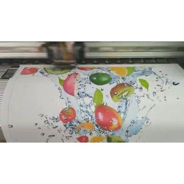 Rouleau de tissu de jet d'encre de polyester de toile d'impression de solvant écologique