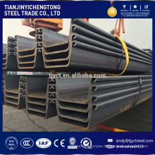 Large stock used sheet piling for sale cheaper price