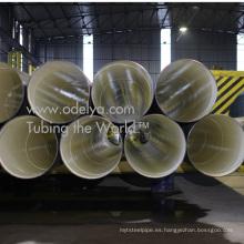 Tubos de acero para agua potable