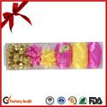 Gold Metallic Ribbon Eier für Ostern