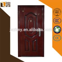 Professional design plain steel door,cheap exterior steel door