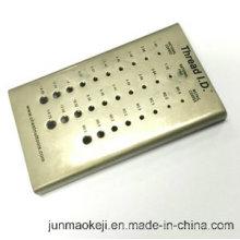 Panneau de contrôle en fonte de cuivre