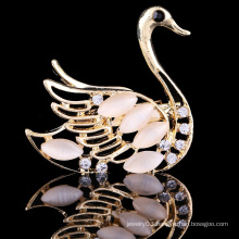 New design wedding rhinestone brooch, swan bulk brooch, china wholesale brooch