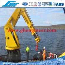 5t @ 10m Grue marine télescopique hydraulique Boom