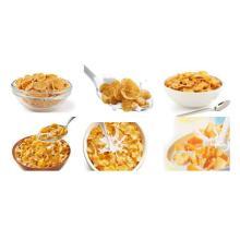 Línea de producción de cereales para el desayuno copos de maíz maquinaria alimentaria