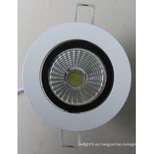 COB LED Down luz 20W LED de luz
