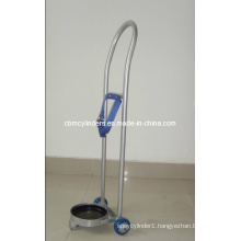 Steel Oxygen Cylinder Trolley for O2 Gas Cylinders