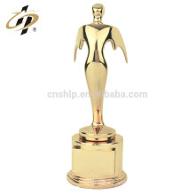 New design products zinc alloy gold plated oscar awards metal trophy cups