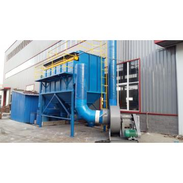 Automatic feeder for medium frequency furnace dust collector