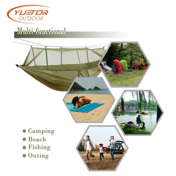 Double Camping Hammock With Tree Strap