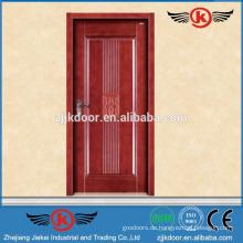 JK-SD9006 neue Design einzigen Holz geschnitzte Tür / solide Teak Holz Tür Preis