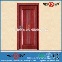 JK-SD9006 new design single wood carved door/solid teak wood door price