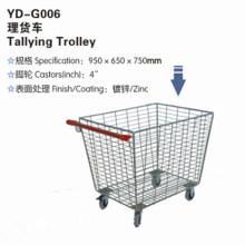 Dauerhafte hochwertige Yd-G006 Tally Trolley