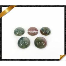 Cabochon en agate Inde, Cabochon rond, Cabochon en perles de pierres précieuses (AG025)