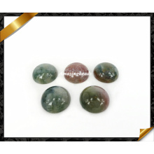 India Agate Cabochon, Round Cabochon, Gemstone Beads Cabochon (AG025)