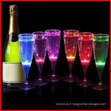 Led Champagne Flûte Glamping Glasses Allumer Pour Noël Noël Maison Bbq Party
