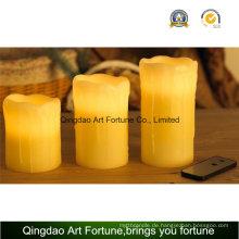 Flameless Bunte LED Kerze-Tropf-Finish und Fernbedienung Funktion