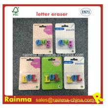 TPR Letter Eraser for Stationery Kids