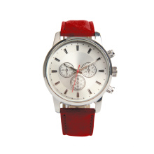 Hot sell PU leather strap simple waterproof japanes brand women watch