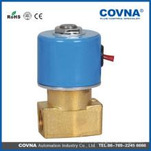 Válvula de água válvula de atuação direta latão válvula solenóide G1 / 4