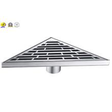 304 Type de drain de douche Triangle en acier inoxydable