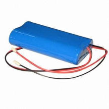 Lithium-ion Battery Pack with 7.4V Voltage and 2,400mAh Capacity