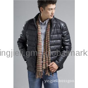 Man new style stand collar down jacket