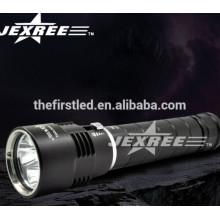 Profissional 2500lm alumínio recarregável levou mergulho lâmpada