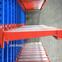 Jracking colgador de acero voladizo en voladizo de servicio ligero metal ligero para almacenamiento