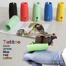 Big Promoción Silicona Colorido Tattoo Grip mangas de la cubierta