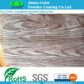 Kayu Grain sublimasi tekstur Powder Coating