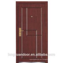 Puerta ignífuga de acero, puerta apantment de fuego, puerta cortafuegos