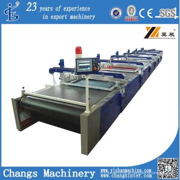 Máquina de impressão automática de tela plana de série SPD