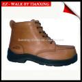 Zapatos de seguridad PU / RUBBER con punta de acero