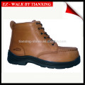 PU / borrachas sapatos de segurança com toe de aço