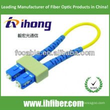 SC fiber optic loopback