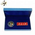 Émail doux en métal pas cher nom personnalisé épinglettes avec broches