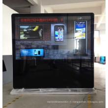 Affichage de la publicité d'Uhd grand de 84 pouces avec le travail net