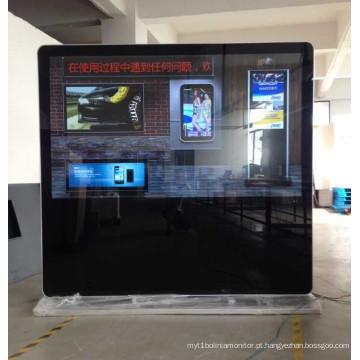 Exposição grande da propaganda de 84 polegadas Uhd que está com trabalho líquido