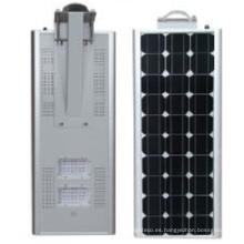 60w luz de calle solar integrada